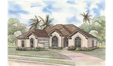 Main image for house plan # 3710