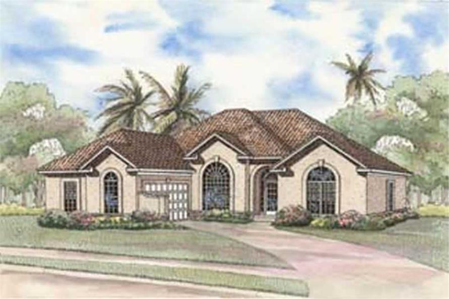4-Bedroom, 2287 Sq Ft Coastal Home Plan - 153-1379 - Main Exterior
