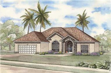 3-Bedroom, 2237 Sq Ft Coastal Home - Plan #153-1380 - Main Exterior