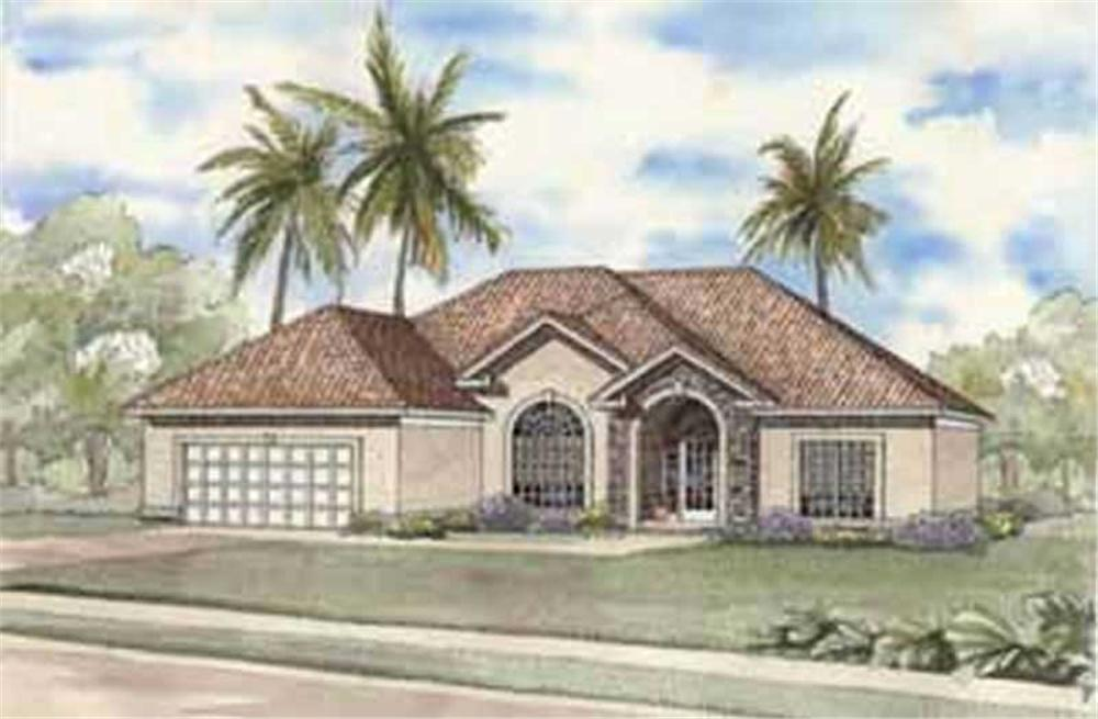 Main image for house plan # 3712