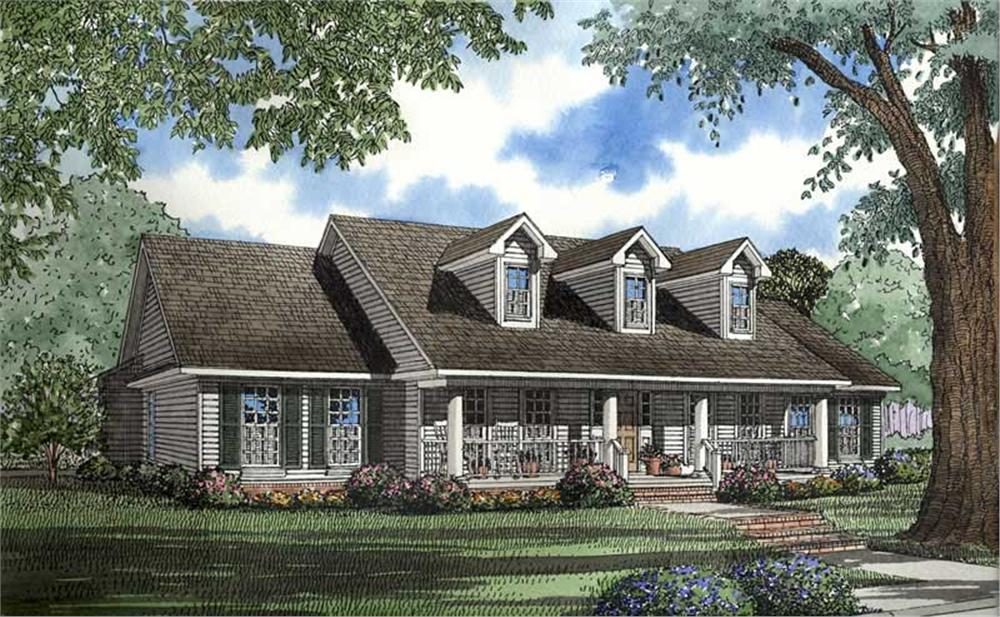 Main image for house plan # 4246