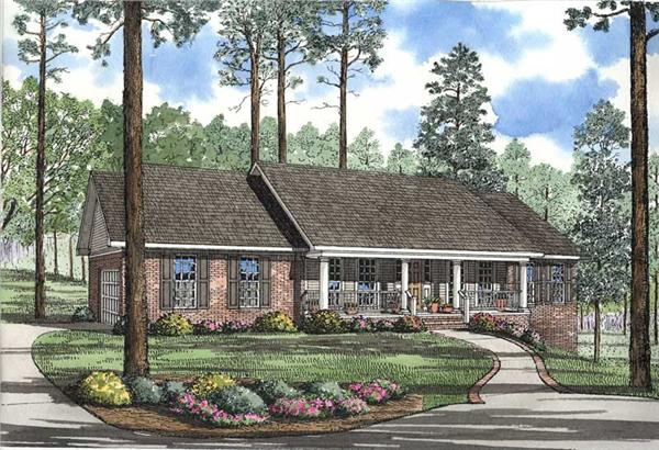 Main image for house plan # 4245