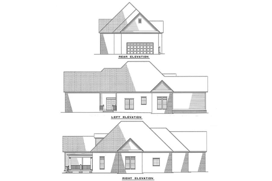 Home Plan Other Image of this 3-Bedroom,1934 Sq Ft Plan -153-1395