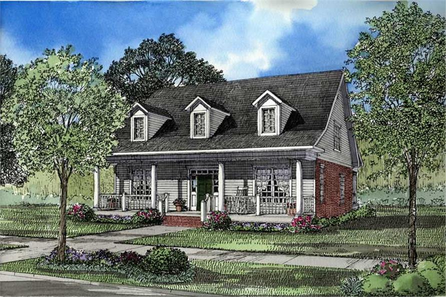 Main image for house plan # 3477