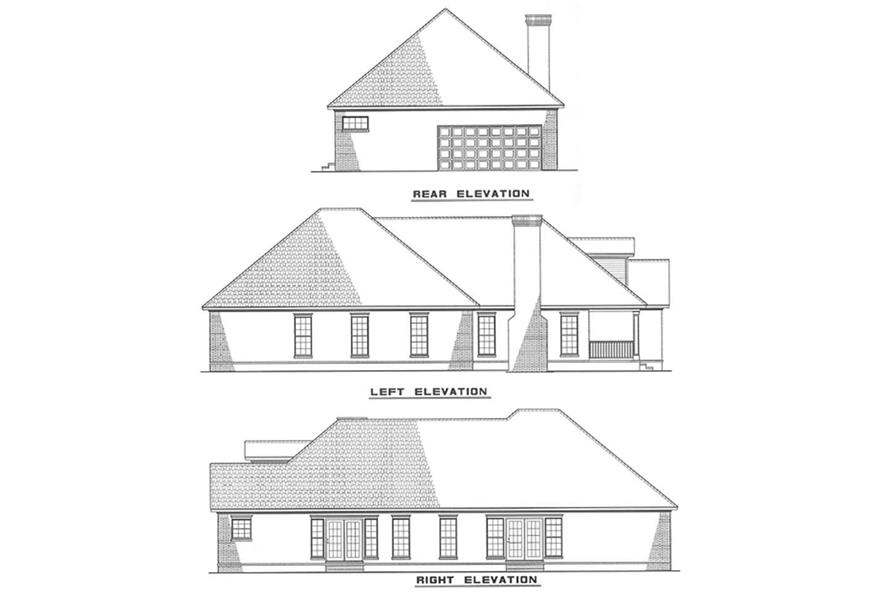Home Plan Other Image of this 3-Bedroom,1660 Sq Ft Plan -153-1403