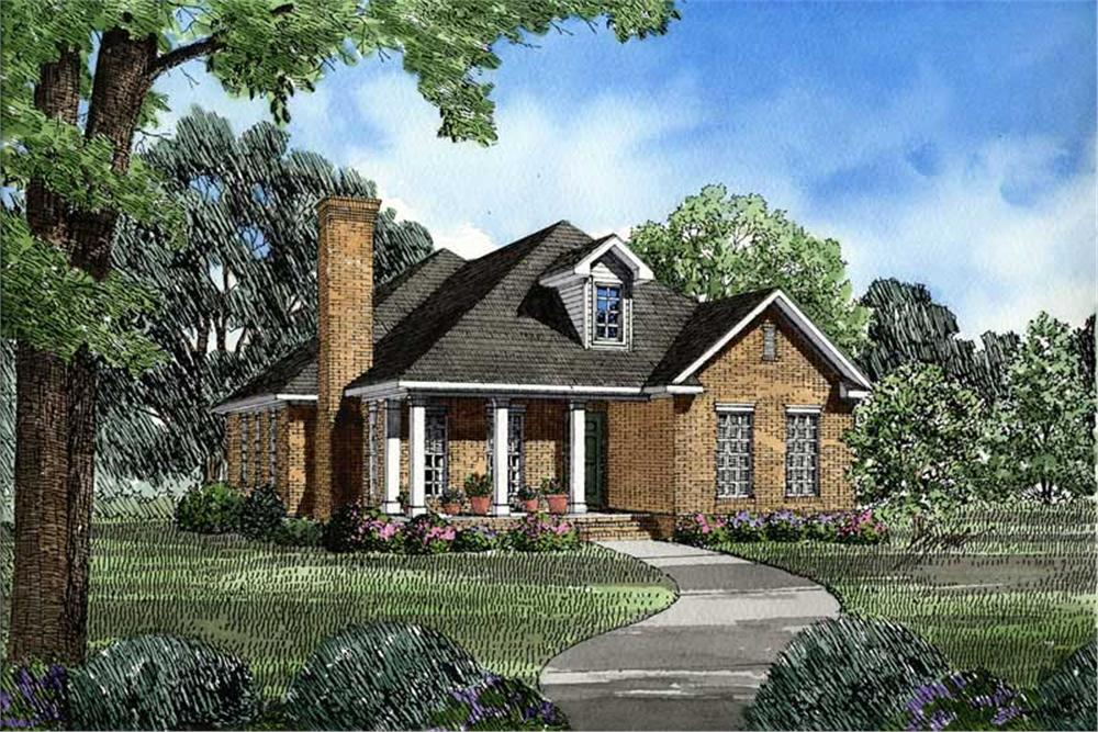 Main image for house plan # 3327