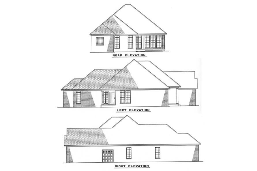 Home Plan Other Image of this 3-Bedroom,1504 Sq Ft Plan -153-1413