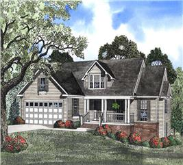 House Plan #153-1415