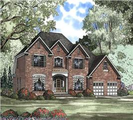 House Plan #153-1416