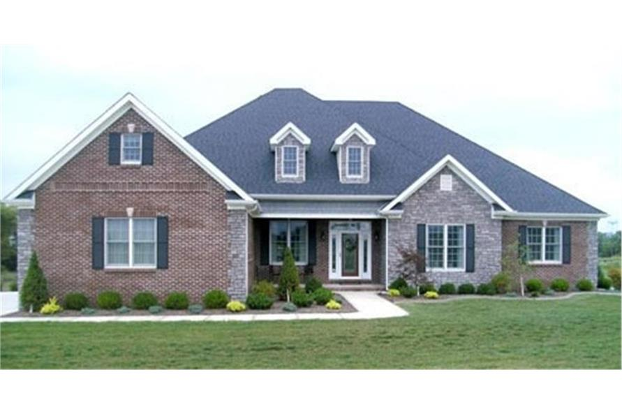 Home Exterior Photograph of this 4-Bedroom,2405 Sq Ft Plan -2405