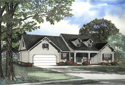 Main image for house plan # 3427