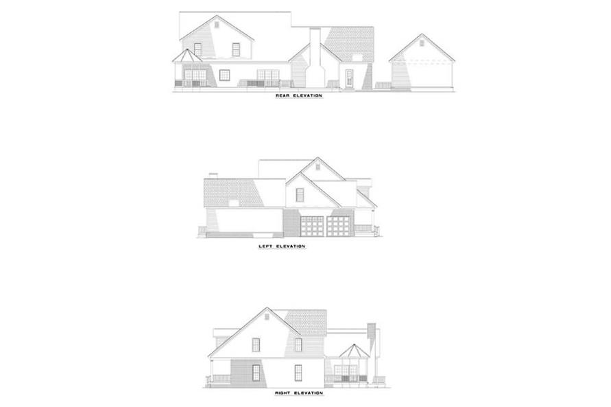 EXTEIROR ELEVATIONS