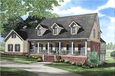 Main image for house plan # 3325