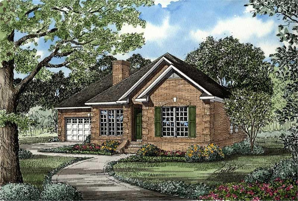 Main image for house plan # 3457