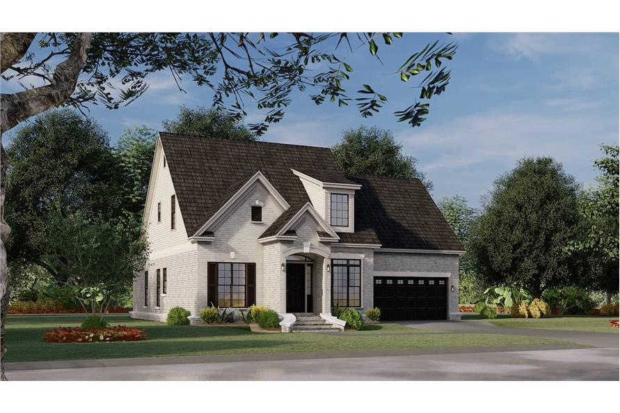 Left View of this 3-Bedroom,1684 Sq Ft Plan -153-1426