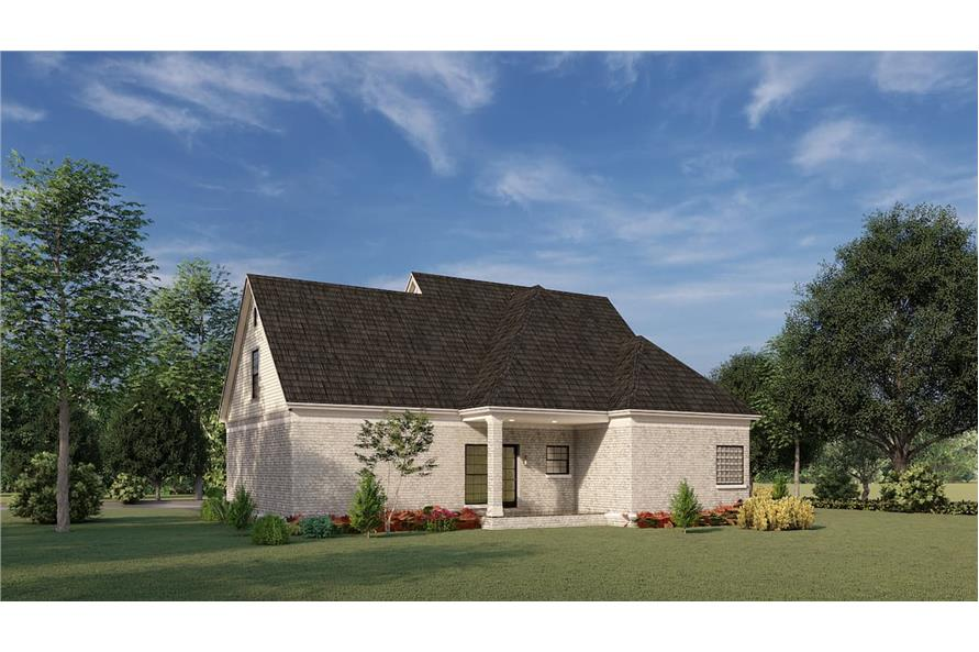 Rear View of this 3-Bedroom,1684 Sq Ft Plan -153-1426