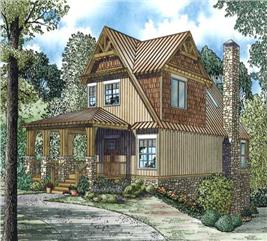 House Plan #153-1427