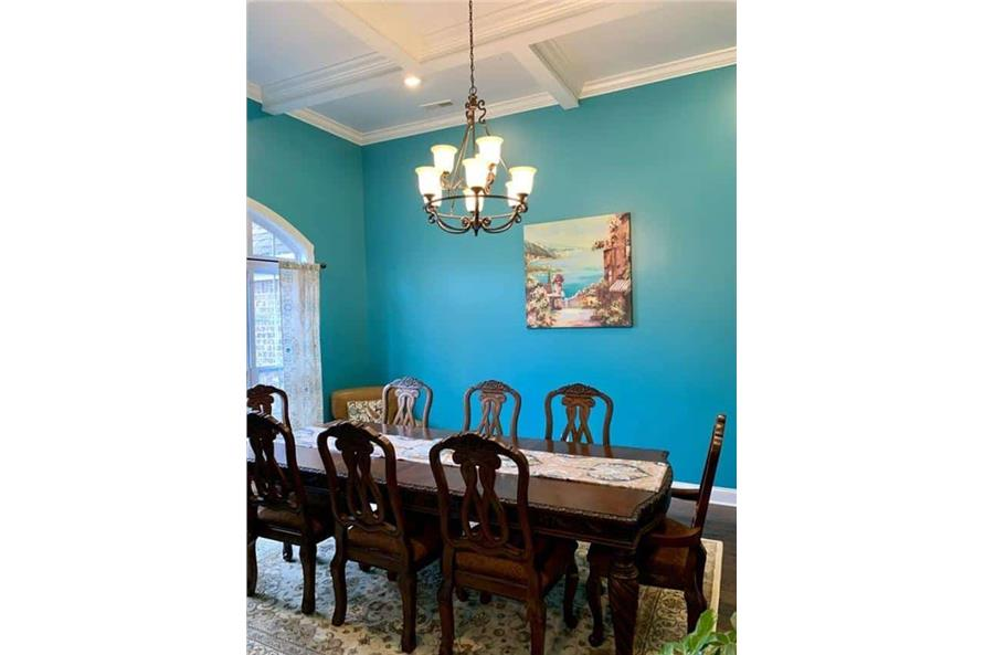 Dining Room of this 4-Bedroom,3052 Sq Ft Plan -153-1428