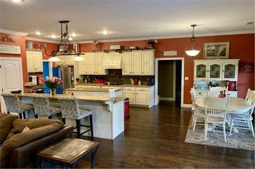 Kitchen of this 4-Bedroom,3052 Sq Ft Plan -153-1428
