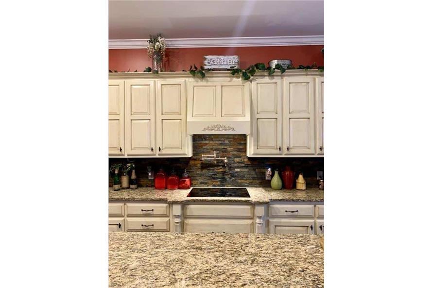 Kitchen: Kitchen Island of this 4-Bedroom,3052 Sq Ft Plan -153-1428