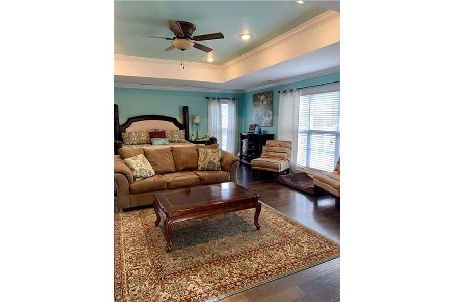 Master Bedroom of this 4-Bedroom,3052 Sq Ft Plan -153-1428