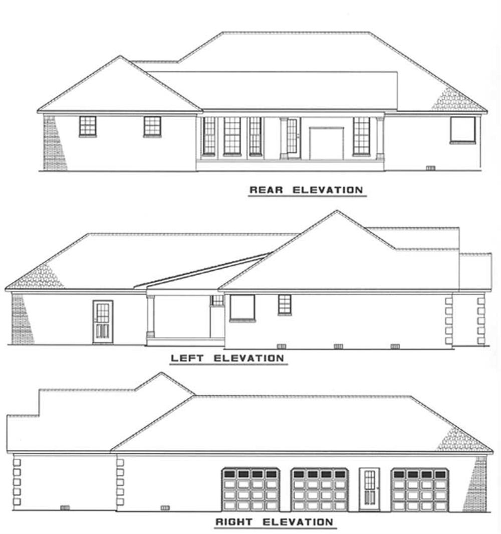 Home Plan Other Image for Ranch Home Plan NDG-255
