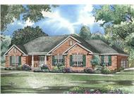 Main image for ranch house plans # 153-1432