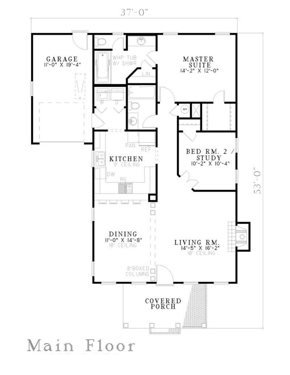 Small Southern Traditional House Plans Home Design Ndg