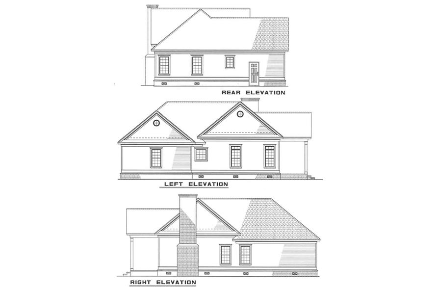 Home Plan Other Image of this 2-Bedroom,1172 Sq Ft Plan -153-1437