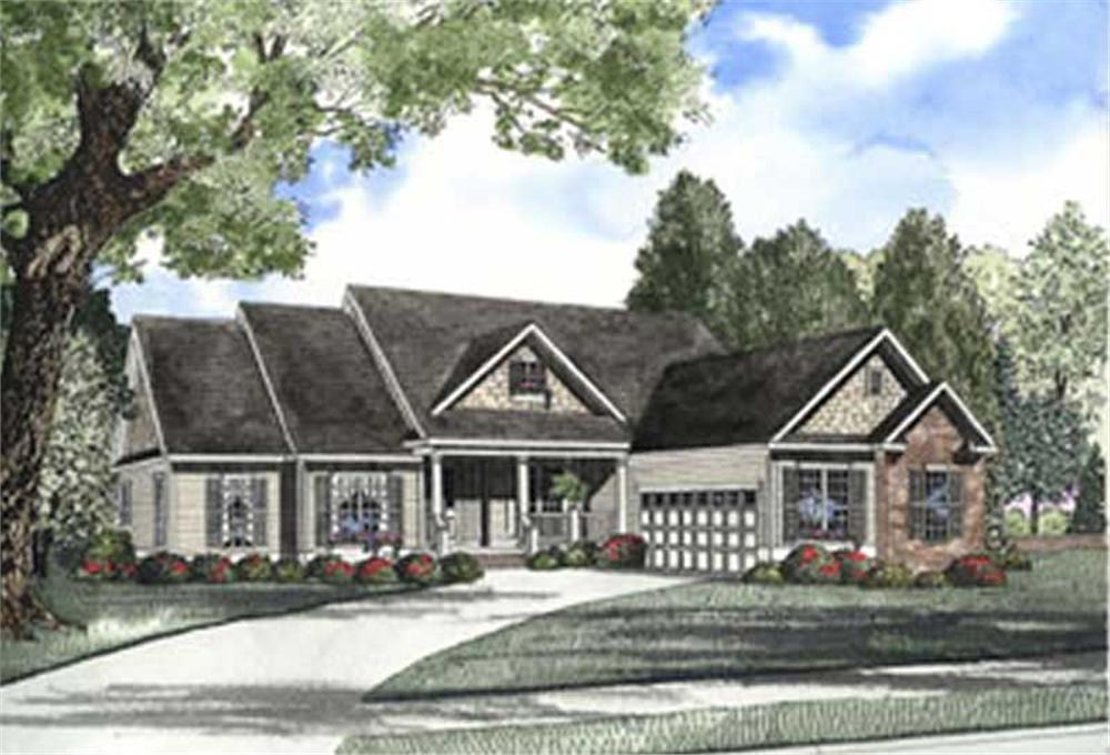 Main image for house plan # 3721