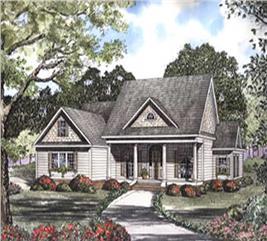 House Plan #153-1442