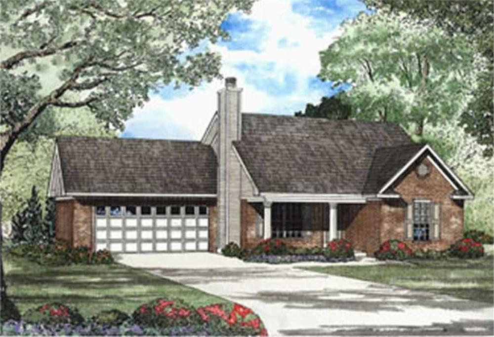 Main image for House Plan # 154-1443
