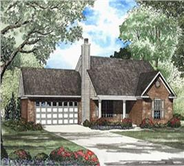 House Plan #153-1443
