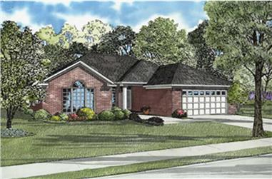 Main image for house plan # 7880