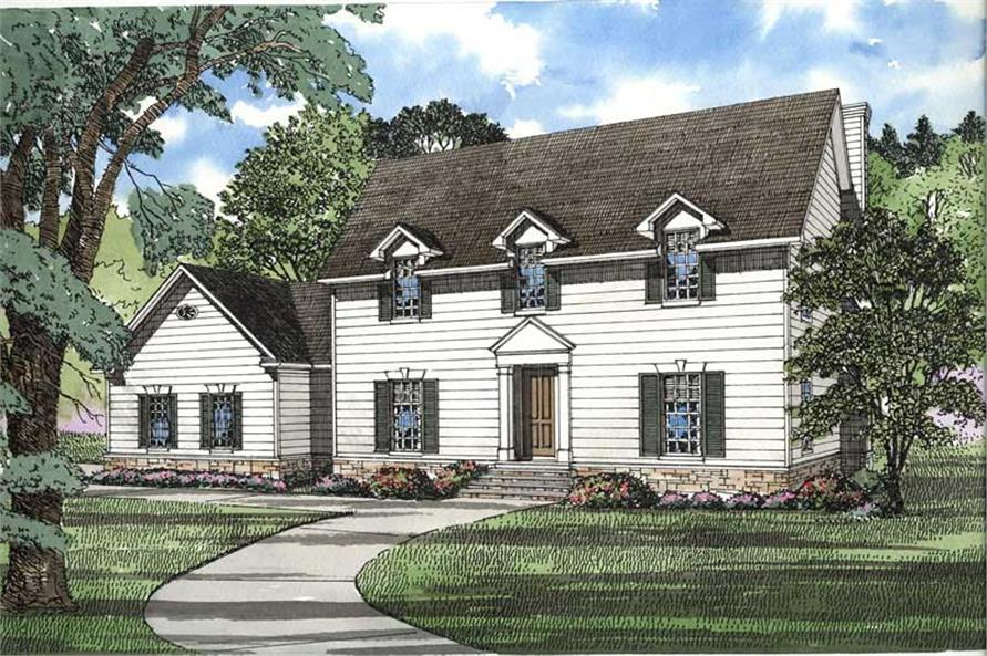 Main image for house plan # 3510