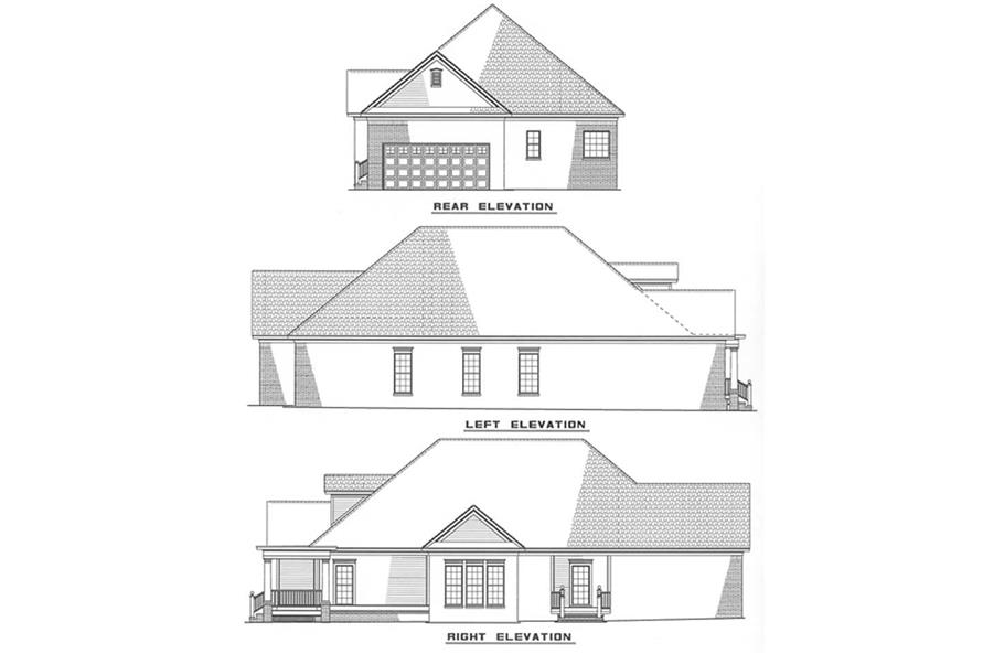 Home Plan Other Image of this 3-Bedroom,1915 Sq Ft Plan -153-1450
