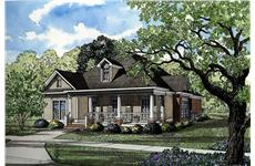 Main image for house plan # 3499