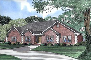 Main image for house plan # 5580