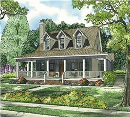 House Plan #153-1454