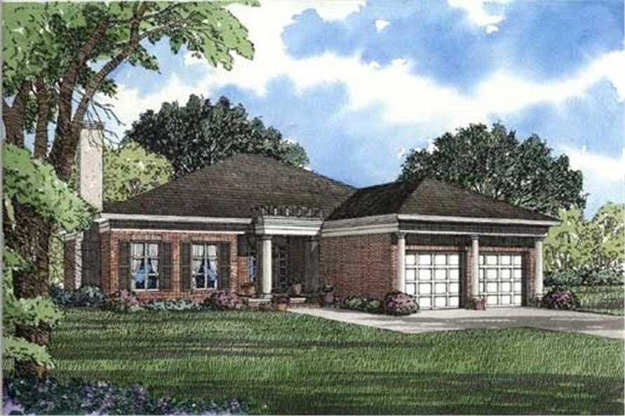 Main image for house plan # 3511