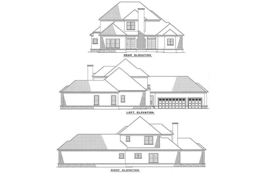 Home Plan Other Image of this 4-Bedroom,3203 Sq Ft Plan -153-1460