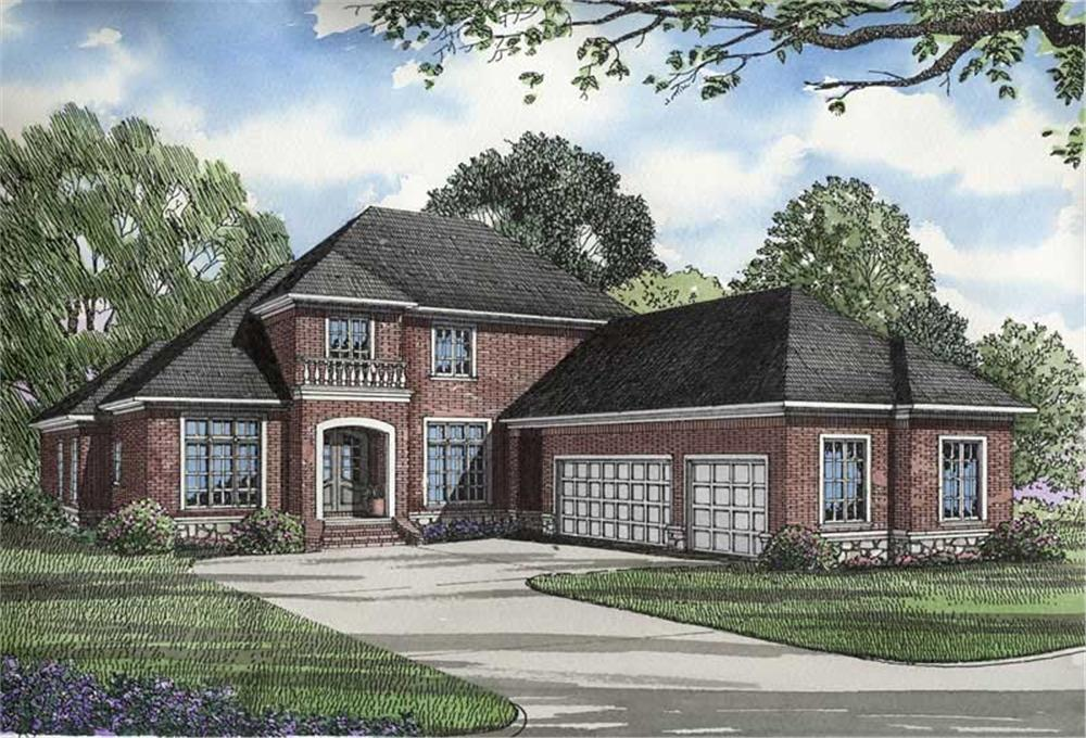 Main image for house plan # 3309