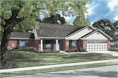 Main image for house plan # 7891