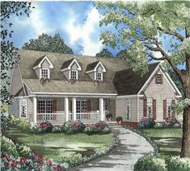 House Plan #153-1464