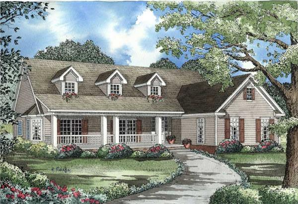 Main image for house plan # 3306