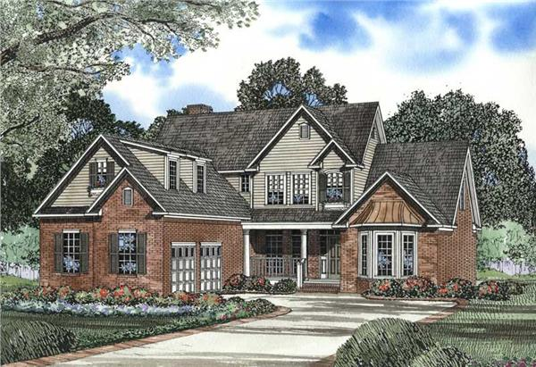 Main image for house plan # 3409