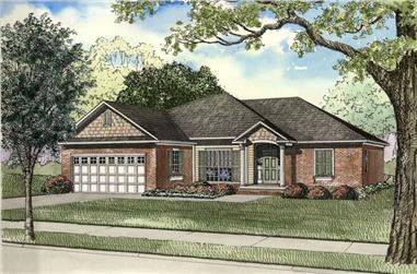 Main image for house plan # 3410