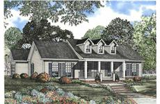 Main image for house plan # 3411
