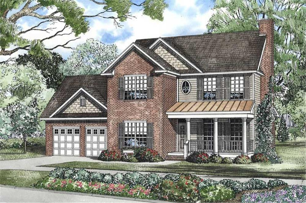 Main image for house plan # 3412