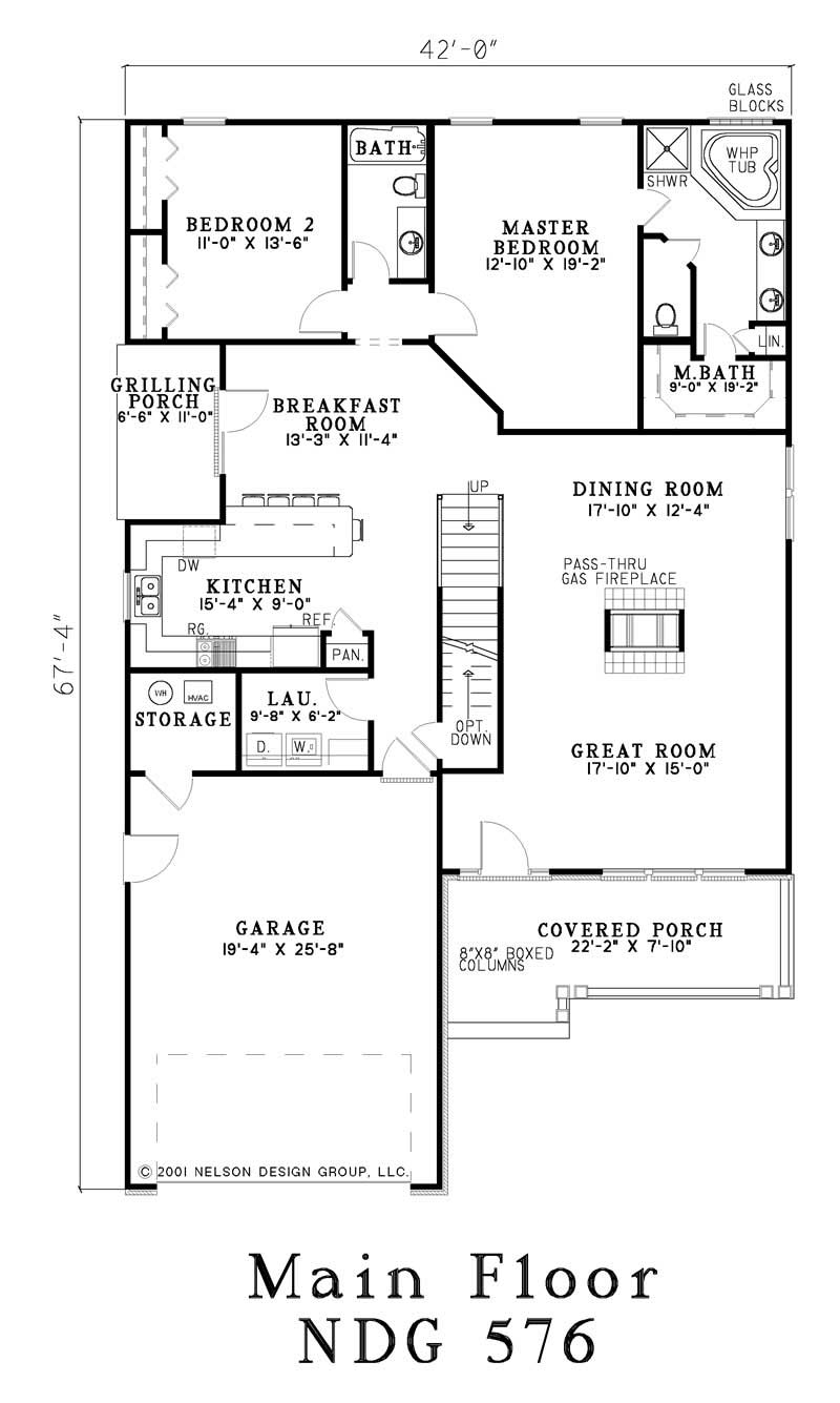 House plan 153 1473 4 bedroom 2857 sq ft craftsman for Cost to build a 576 sq ft house